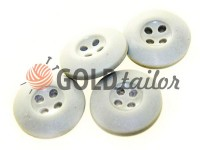 Button NATO 20 mm four holes, light gray