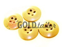 Button NATO 20 mm four holes, beige