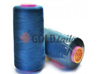 "Tread polyester 40/2 ""777"" 5000 yard, blue 138"