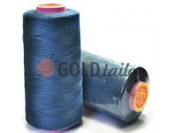 "Tread polyester 40/2 ""777"" 5000 yard, blue 504"