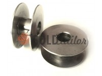 Spool for industrial sewing machine metall not knurled