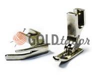 Лапка металева P360 для промислової швейної машини з завуженою лівою лижею