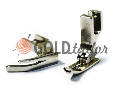 Buy The foot metal P360 for a narrower right ski industrial sewing machine wholesale and retail 1 pcs
