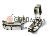 Лапка металева промислова P69HR/P69HL 1/4 для вшивання канту