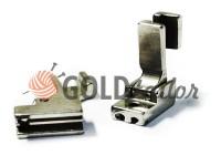 Лапка металева промислова S518 для вшивання потайної блискавки