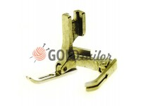 Foot steel P363 industrial sewing machine with a constricted ski
