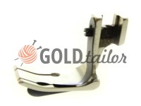 Foot industrial metal P15 5/16 for topstitching along the edge of the fabric