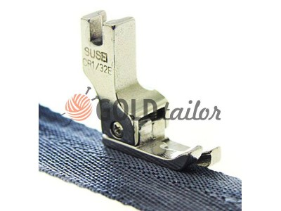 Buy The foot metal CR1/32E for topstitching along the edge of the fabric wholesale and retail 1 pcs