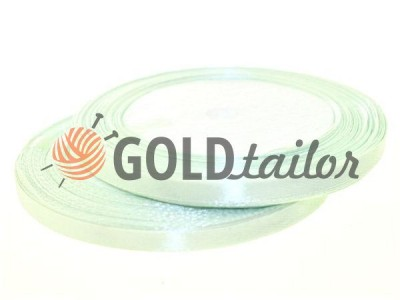 Action - Satin ribbon 7mm, honeydew, length 25 m, purchase 1 Babin without registration