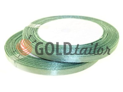 Action - Satin ribbon 7mm, dark seagreen, length 25 m, purchase 1 Babin without registration