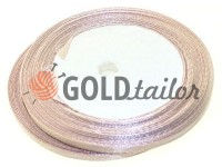 Satin Tape 7mm, color dark salmon, length 25 m