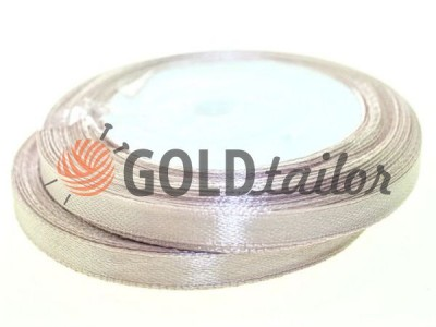 Action - Satin ribbon 7mm, dark salmon, length 25 m, purchase 1 Babin without registration