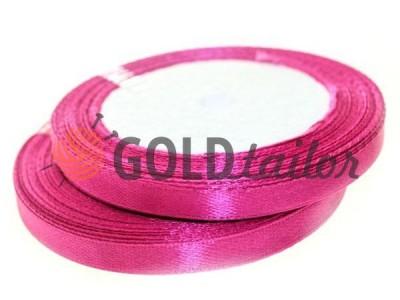 Акция - Лента атласная 7 мм, цвет умеренный лилово-красный, длина 25 м, купить от 1 бабины без регистрации