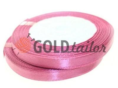 Акция - Лента атласная 7 мм, цвет светло-розовый, длина 25 м, купить от 1 бабины без регистрации