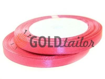 Action - Satin ribbon 7mm, indianred, length 25 m, purchase 1 Babin without registration