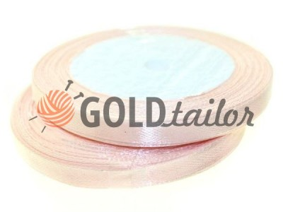Action - Satin ribbon 7mm, lightpink, length 25 m, purchase 1 Babin without registration