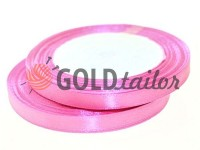 Satin Tape 7mm, color hotpink, length 25 m