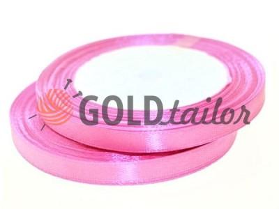 Акция - Лента атласная 7 мм, цвет ярко-розовый, длина 25 м, купить от 1 бабины без регистрации