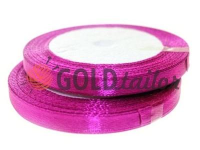 Акция - Лента атласная 7 мм, цвет фиолетовый, длина 25 м, купить от 1 бабины без регистрации