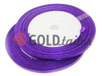 Satin Tape 7mm, color darkpurple, length 25 m