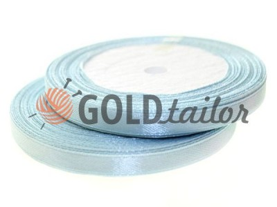 Action - Satin ribbon 7mm, lightskyblue, length 25 m, purchase 1 Babin without registration