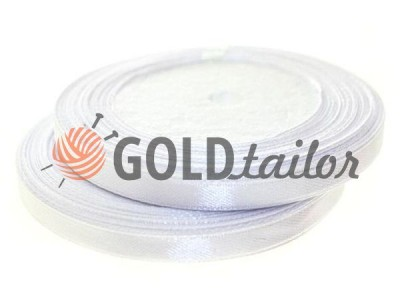 Action - Satin ribbon 7mm, white, length 25 m, 33 m, purchase 1 Babin without registration