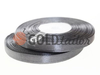 Action - Satin ribbon 7mm, dimgray, length 33 m, purchase 1 Babin without registration