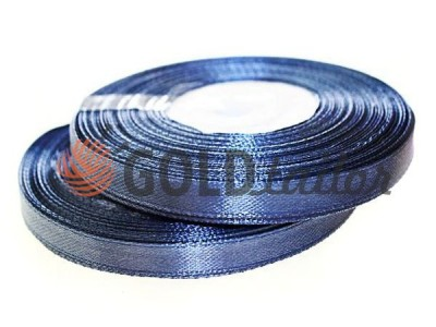 Action - Satin ribbon 7mm, mediumblue, length 33 m, purchase 1 Babin without registration
