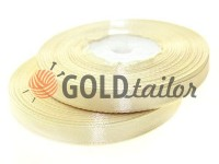 Satin Tape 7mm, color cornsilk, length 33 m