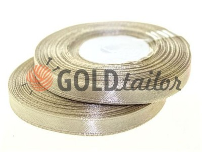 Action - Satin ribbon 7mm, darkbeige, length 33 m, purchase 1 Babin without registration