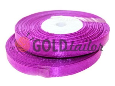 Action - Satin ribbon 7mm, mediumorchid, length 33 m, purchase 1 Babin without registration