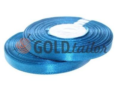 Action - Satin ribbon 7mm, darkcyan, length 33 m, purchase 1 Babin without registration