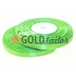 Satin Tape 7mm, color spring green, length 33 m