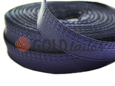Тасьма брючна 15 мм, колір синій купити оптом і вроздріб від 1 м