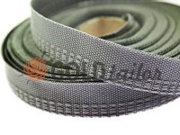 Braid band 15 mm, color gray