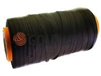 Тасьма брючна безусадкова 15 мм, колір коричневий 1134