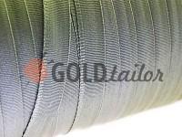 Тасьма брючна безусадкова 15 мм, колір бежевий 0075