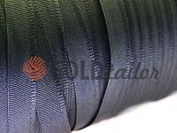 Тасьма брючна безусадкова 15 мм, колір сірий 1284