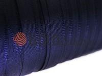 Тасьма брючна безусадкова 15 мм, колір синій 7801