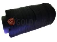 Тасьма брючна безусадкова 15 мм, колір чорний