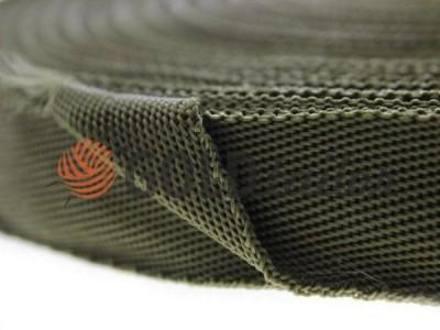 Тасьма для сумок 20 мм - 50 мм, колір оливковий купити оптом і вроздріб