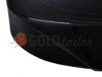 Braid for bags polyamide 20 mm - 50 mm, black