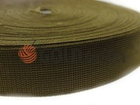 Braid for bags polyamide 20 mm - 50 mm, olive
