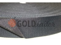 Braid for bags polyamide 20 mm - 50 mm, coyote