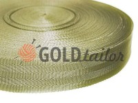 Braid for bags 40 mm, olive