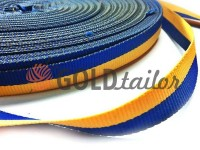 "Braid ""Ukraine"" rep 10 mm - 50 mm, yellow-blue"
