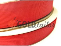 Braid rep polyamide 15 mm - 50 mm, red 026