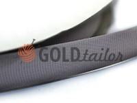 Тасьма репсова поліамід 15 мм, колір сірий 106