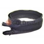 Молния потайная спиральная 50 см тип 3, цвет черный