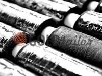 Нитка Filtex 450 ярд, щільність 40/2, колір чорний